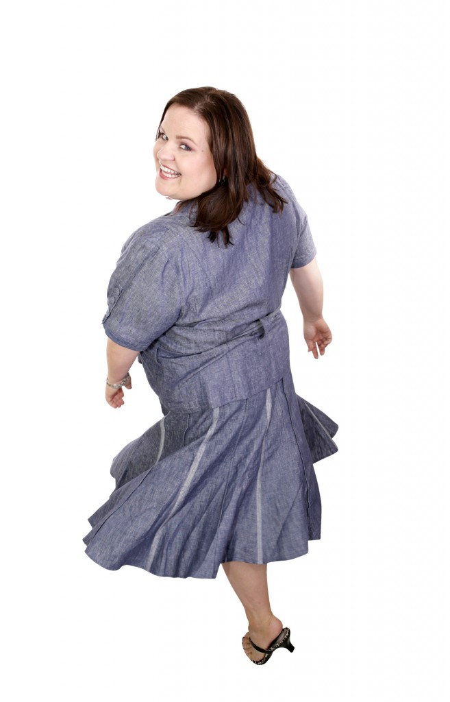 Plus Sized Model  Twirl